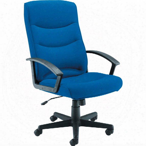 Lincoln Deluxe Managers Chair Royal Blue