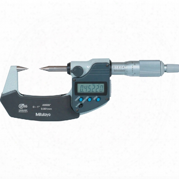 Mitutoyo 342-361-30 Digimatic Point Micrometer