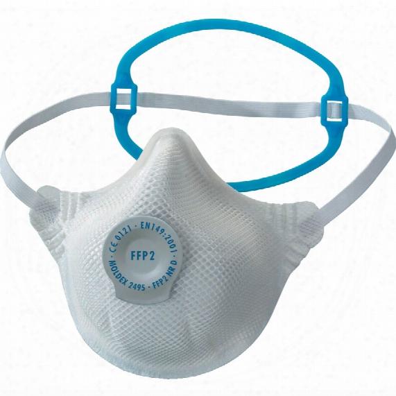 Moldex 2495-ffp2d 1-strap Dust/mist/fume Mask/valve (20)