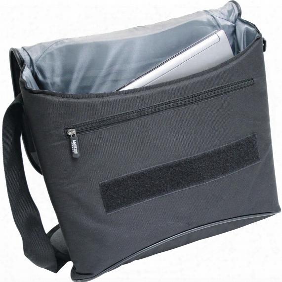 Monolith Nylon Messenger Bag Black/grey 2386