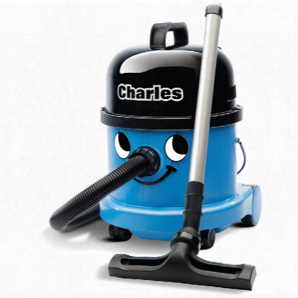 Numatic Charles Cvc-370 Wet & Dry Vacuum Cleaner Blue 240v