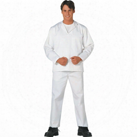 Portwest 2208 White Bakers Trousers - Size Xl