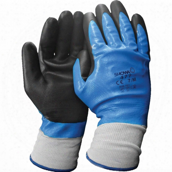 Showa 477 Insulated Foam Grip Glove Lrg