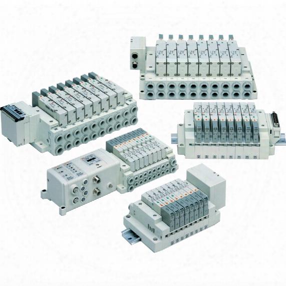 Smc Sv1000-50-4a-c6 Manifold Block Assy