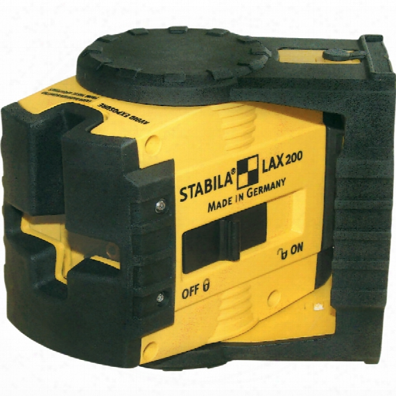Stabila Lax200 Self Level Cross Line Laser 250m Range