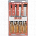 Kennedy Craftsman Bevel Edge Wood Chisels (Set-4)