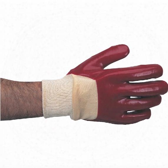 Workranger Open Back Red/natural Gloves - Size 8