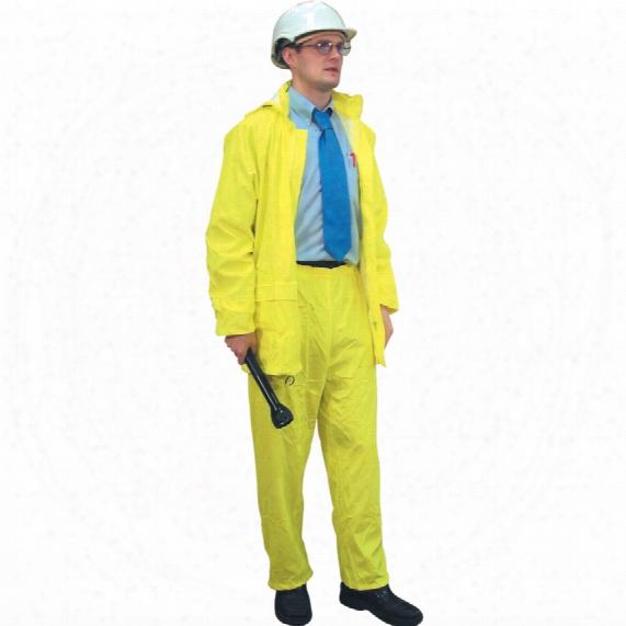 Workranger Soft-feel Yellow Rain Trousers - Size M
