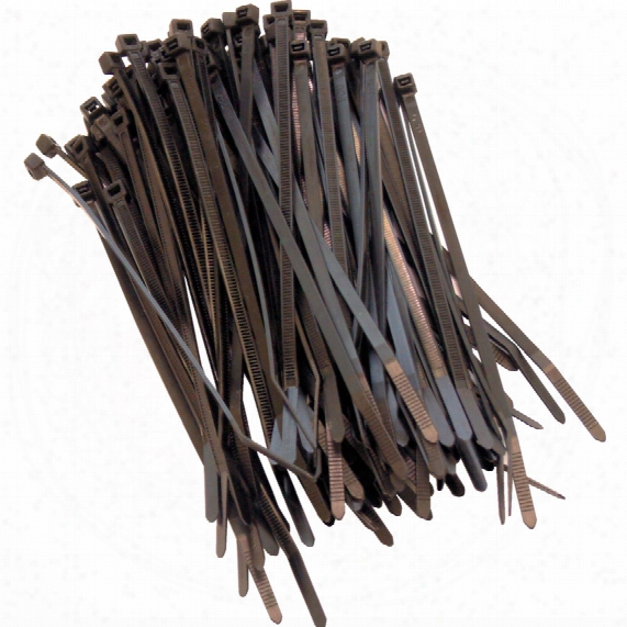 Workshop Assorted Black Cable Ties (pk-600)