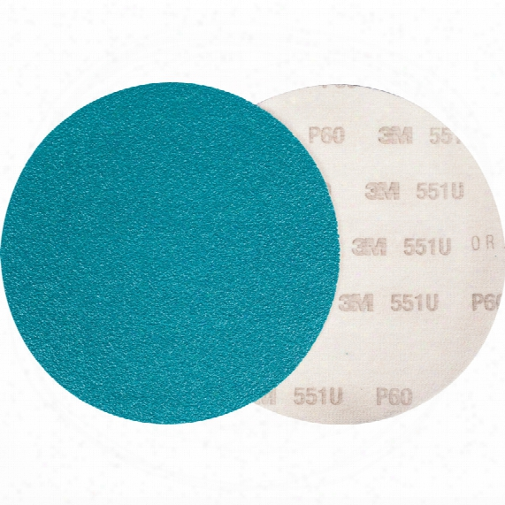 3m 65082 551u Hookit Discs150mm P120 Plain