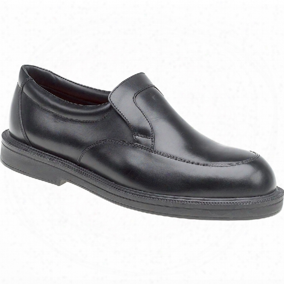 Himalayan Black Leather Slip-on Shoe Size 10-9910