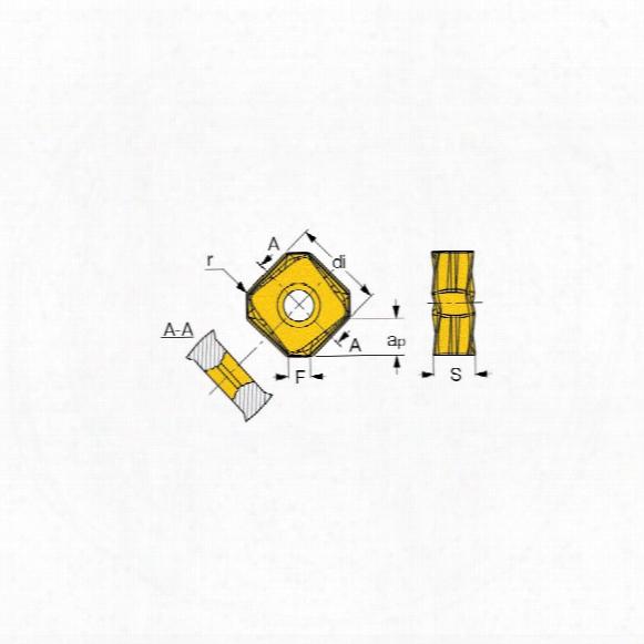 Iscar S845 Sxmu 1606adtr-mm Insert Grade Ic928