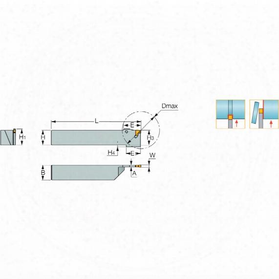 Iscar Tgtl 2525-3 Toolholder
