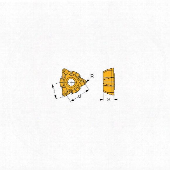Iscar Wolh 05t304-sw Insert Grade Ic328