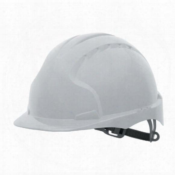 Jsp Aje030-000-100 Evo2 N/ven Ted Safety Helmet White