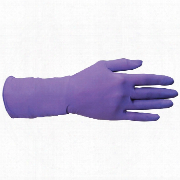 Kimtech 90627 Science Purple Nitrile Disposable Gloves -  Size M