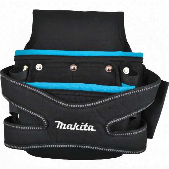 Makita 66-015b 2-pocket Fixings Pouch Blue
