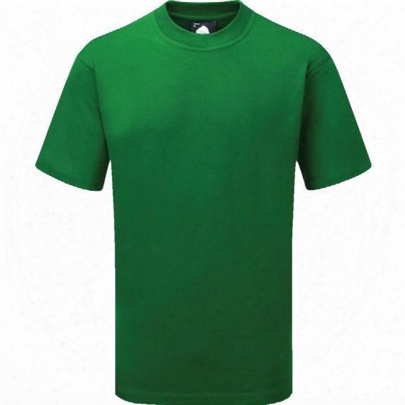 Orn 1005-15 Goshawk Delux Bottle Green T-shirt - Size L