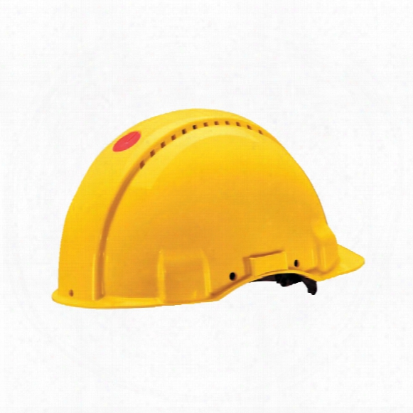 Peltor G3000cuv-gu Safety Helmet Uvicator Yellow