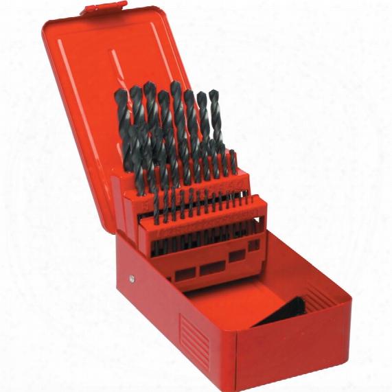 Sherwood Set Of 32 Hss Drills 1-10.50mm X 0.5mm
