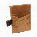 Kennedy Suede 2-Pocket 5-Loop Nail & Tool Pouch