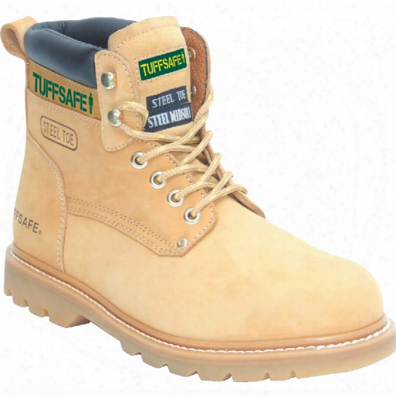 Tuffsafe Bbh01 Welted Men's Tan Safety Boots - Size 11