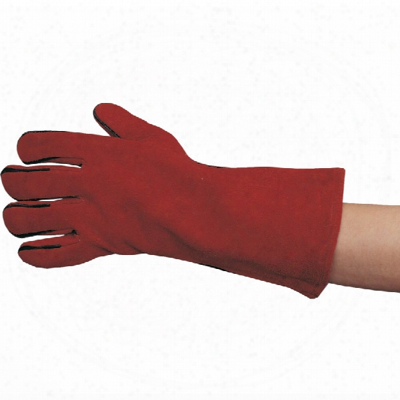 Tuffsafe Red Lined Gauntlets Pair