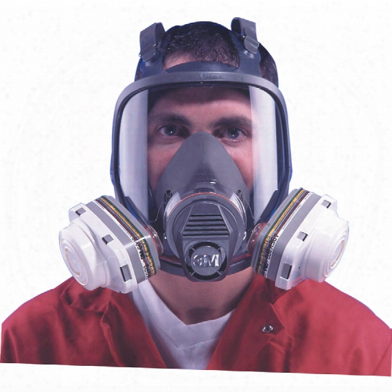 3m 6900s Large Full Face Mask Reusable Without Filters Low Maintenance