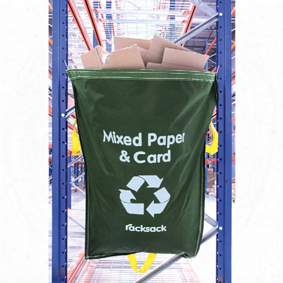 Avon Racking Waste Sack Mixed Paper And Card Green