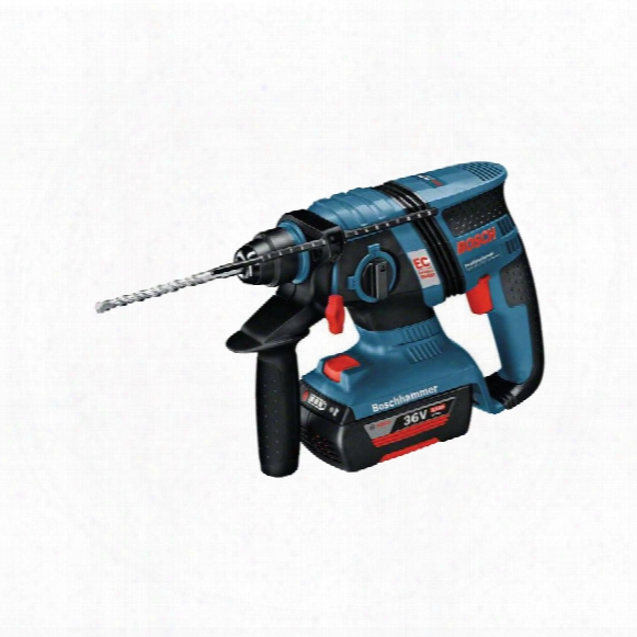 Bosch Gbh 36v Ec Sds Hammer Drill Brushless 2x2ah Bat'