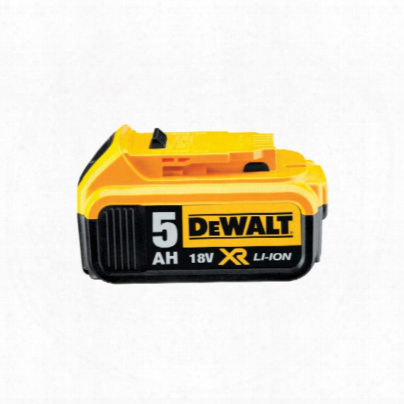 Dewalt Dcb184-xj 18v Li-ion Battery Pack 5.0ah
