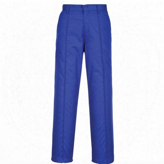 Portwest 2885 Preston Men's Blue Trousers - Size 36l