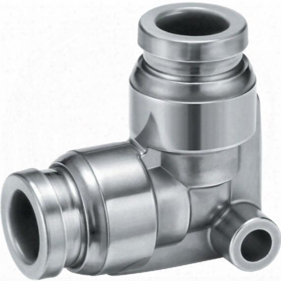 Smc Kqg2l12-00 Stainless Elbow Fitting 12mm