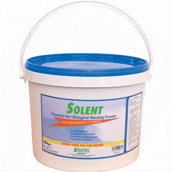 Solent Cleaning Laundry Powder Non-bio 10 Kg