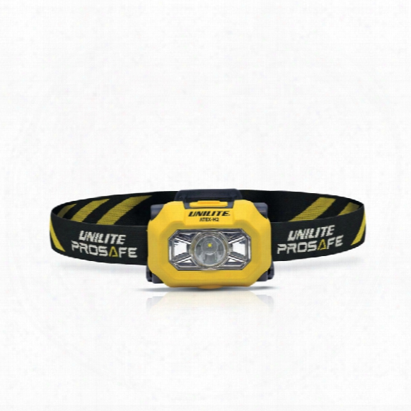 Unilite Atex 180 Lumen 1m Submersible Headlight 3xaaa