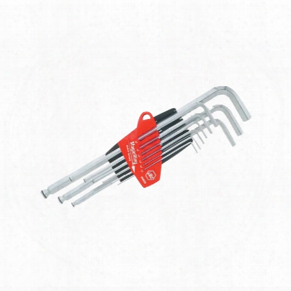 Wiha 20709 B/e Hex Magicring L -key Set In Holder 9-pce