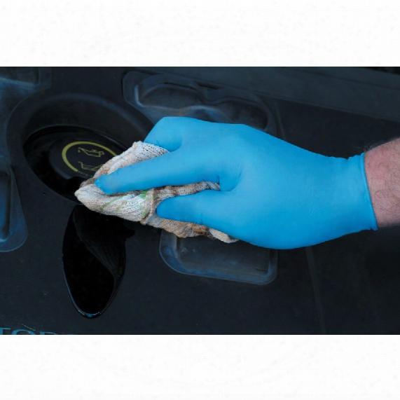 Workshop Blue Nitrile Disposable Gloves - Size Xl