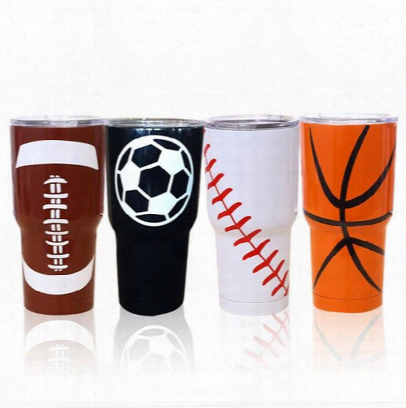2017 30oz Stainless Steel Tumblers Bilayer Insulation Car Travel Vehicle Double Wall Bilayer Vacuum Insulated Beer Mugs 900ml