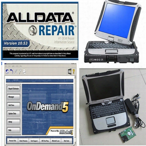 Alldata Mitchell New Alldata 10.53 And Mitchell On Demand Auto Repair Software 2017 Installed In Cf19 Toughbook Touch Hdd 1tb