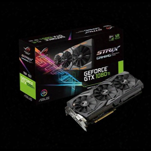 Asus Strix Gtx1080ti 11g Gaming Gdd5x Non-public Edition High-end Game Graphics Card Of The Founder Bus Standard Pci Express