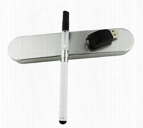 Bud Touch Pen Box Kit Starter Kit Vape Pen Thick Oil Atomizer Electronic Cigarettes Vaporizer Pen Cartridges Ce3 Atomizer E Cig Kits