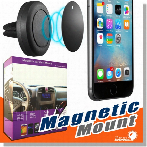 Car Mount, Expose To ~ Vent Magnetic Universal Car Mount Phone Holder For Iphone 6/6s, One Step Mounting ,reinforced Magnet, Easier Safer Driving