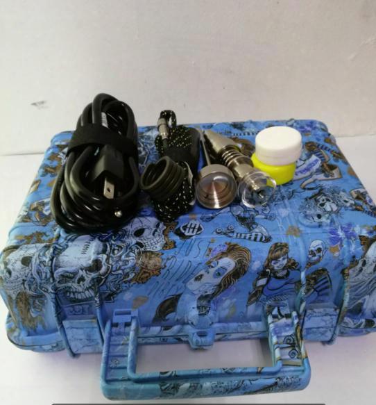 Cheap E Nail Pelican Electric Dab Nail Enail Controller Wax Pid Tc Box With Titanium 16 20 Mm Domeless With Titanium Nail &carp Cap
