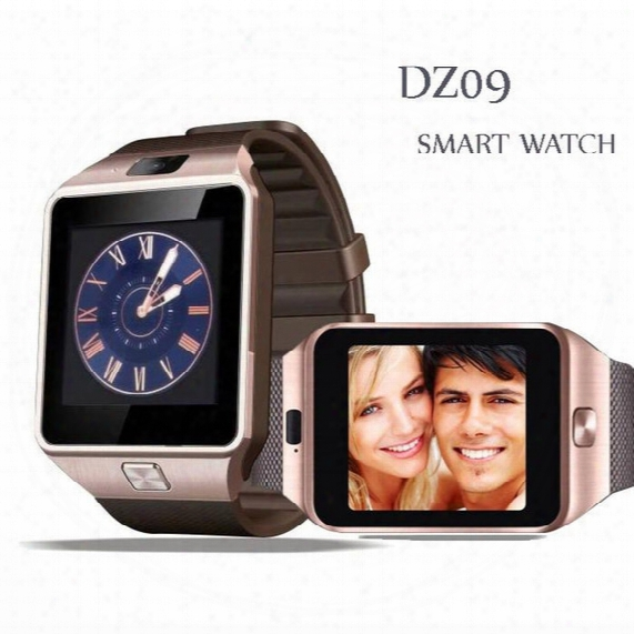 Dz09 Smart Watch Factory Outlet : 40 Pcs 1.56 Inch Latest Smartwatches Dz09 Support Sim Card Tf Card For Cellphone With Good Battery