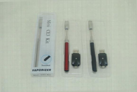 Hot Ce3 Blister Kit 0.5ml 1.0ml Glass Ce3 Cartridge Vape Ecigarette 510 Bud Touch Pen Starter Kit Dhl