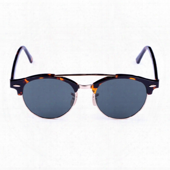 Polarized Sunglasses For Men Vintage Sunglasses Women Brand Designer Carfia 4346 Black Tortoise Green Sun Glasses 51mm Glasses With Case