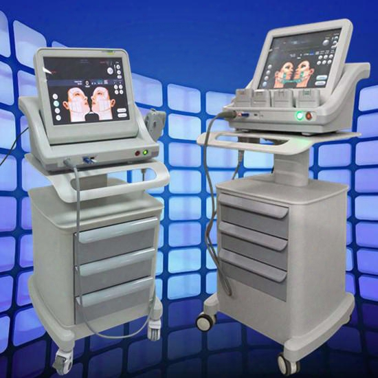 Skin Care Hifu High Intensity Focused Ultrasound Machine For Deep Facelift Tightening Wrinkles Removal Hifu With 5 Cartridges 10000 Shots