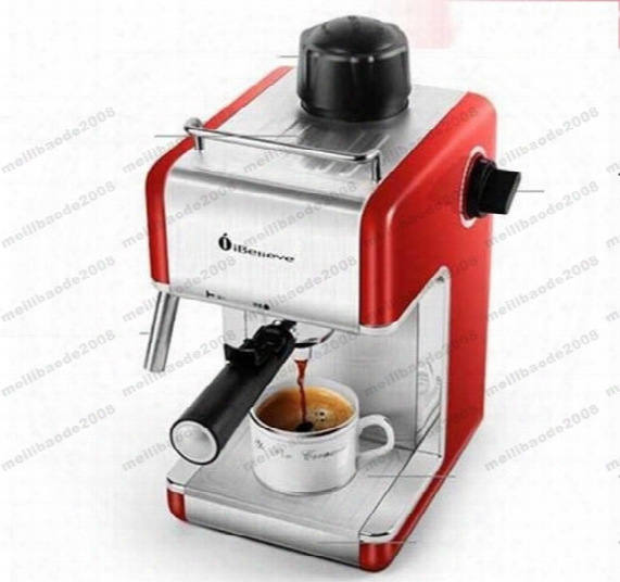 2017 New Xeoleo Espresso Coffee Maker Cm6812 Italy Coffee Machine Ibelieve Coffee Make Machine Semi Automatic Myy