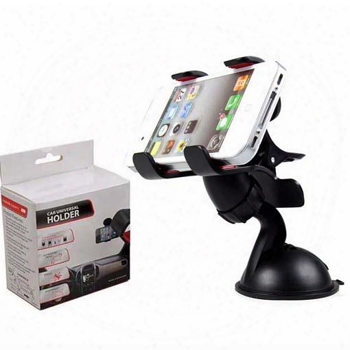 30 Pcs Universal 360â° In Car Windscreen Dashboard Holder Mount Stand For Iphone Samsung Gps Pda Mobile Phone Black
