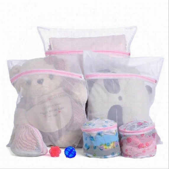 30*40cm Washing Machine Specialized Underwear Washing Lingerie Bag Mesh Bag Bra Washing Care Laundry Bag In Best Price And Qualty W1129
